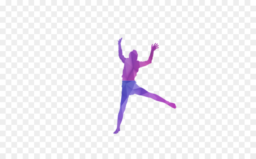 900x560 Modern Dance Purple Wallpaper