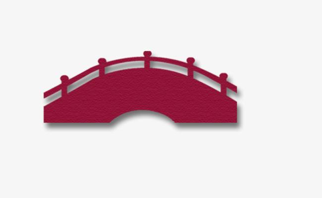 650x400 Purple Silhouette Bridge, Bridge, Arch Bridge, Sketch Png Image