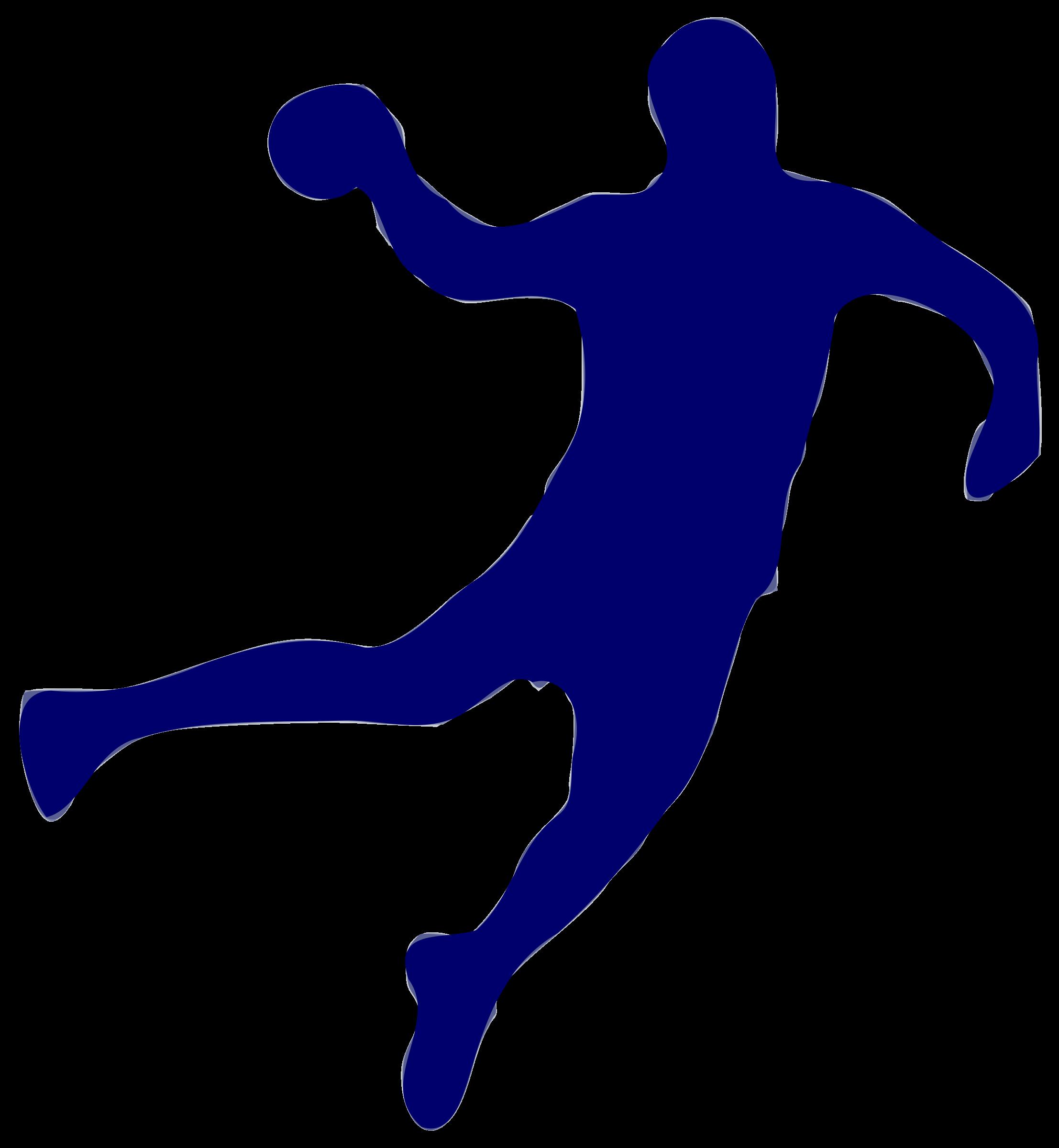 2214x2400 Silhouette Handball 01 Icons Png