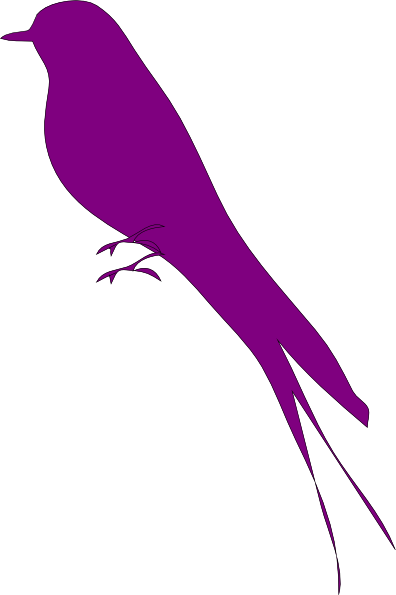 396x595 Purple Bird Purple Bird Clip Art Purple Purple