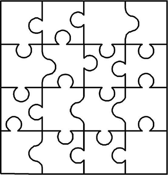 Puzzle Silhouette