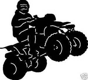300x275 Four Wheeler Quad Decal Vinyl Removable Atv By Happywalls4u