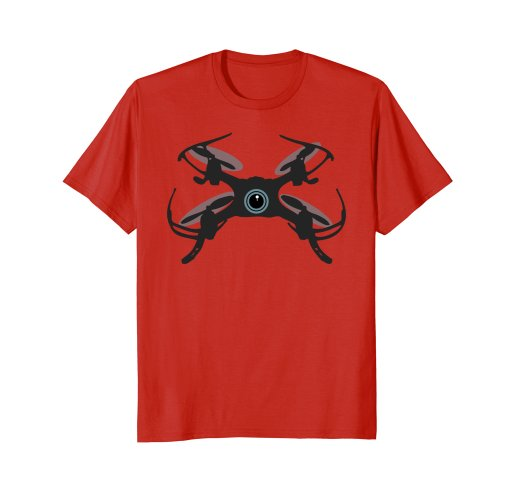 522x488 Cute Flying Quadcopter Drone Camera Eye Silhouette T