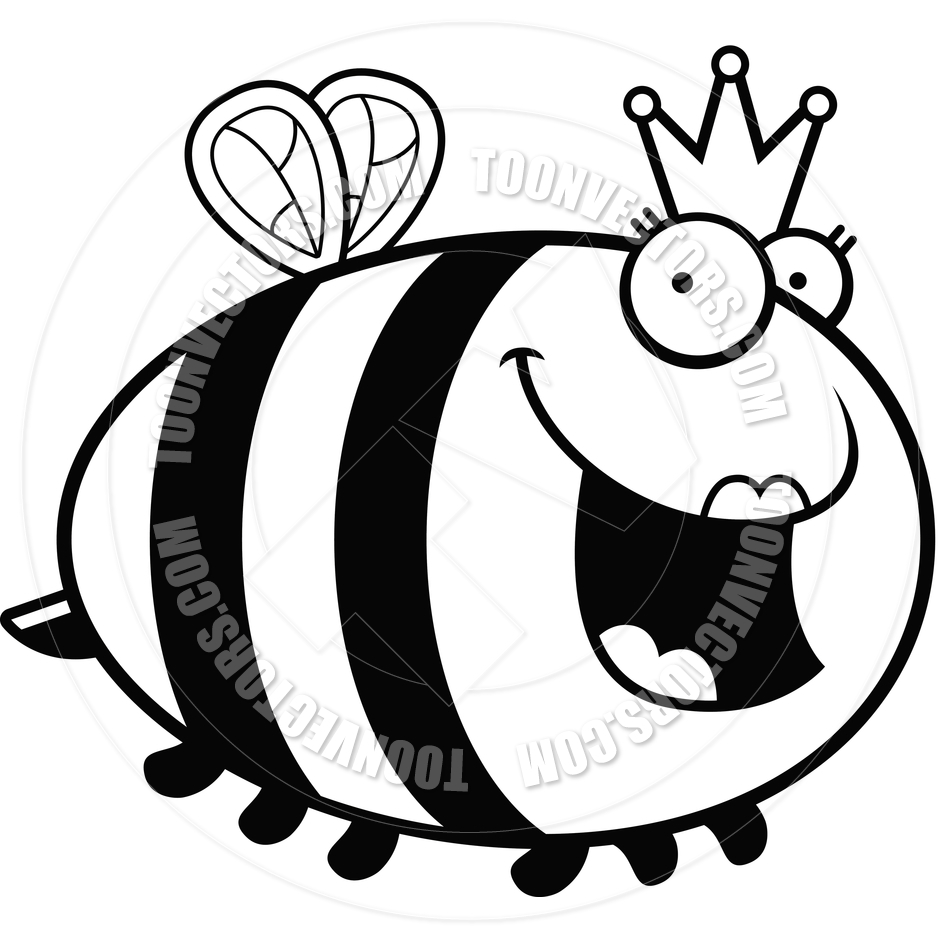 940x940 Queen Bee Clipart Black And White Clipart Panda