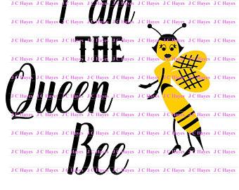 340x270 Queen Bee Svg Etsy