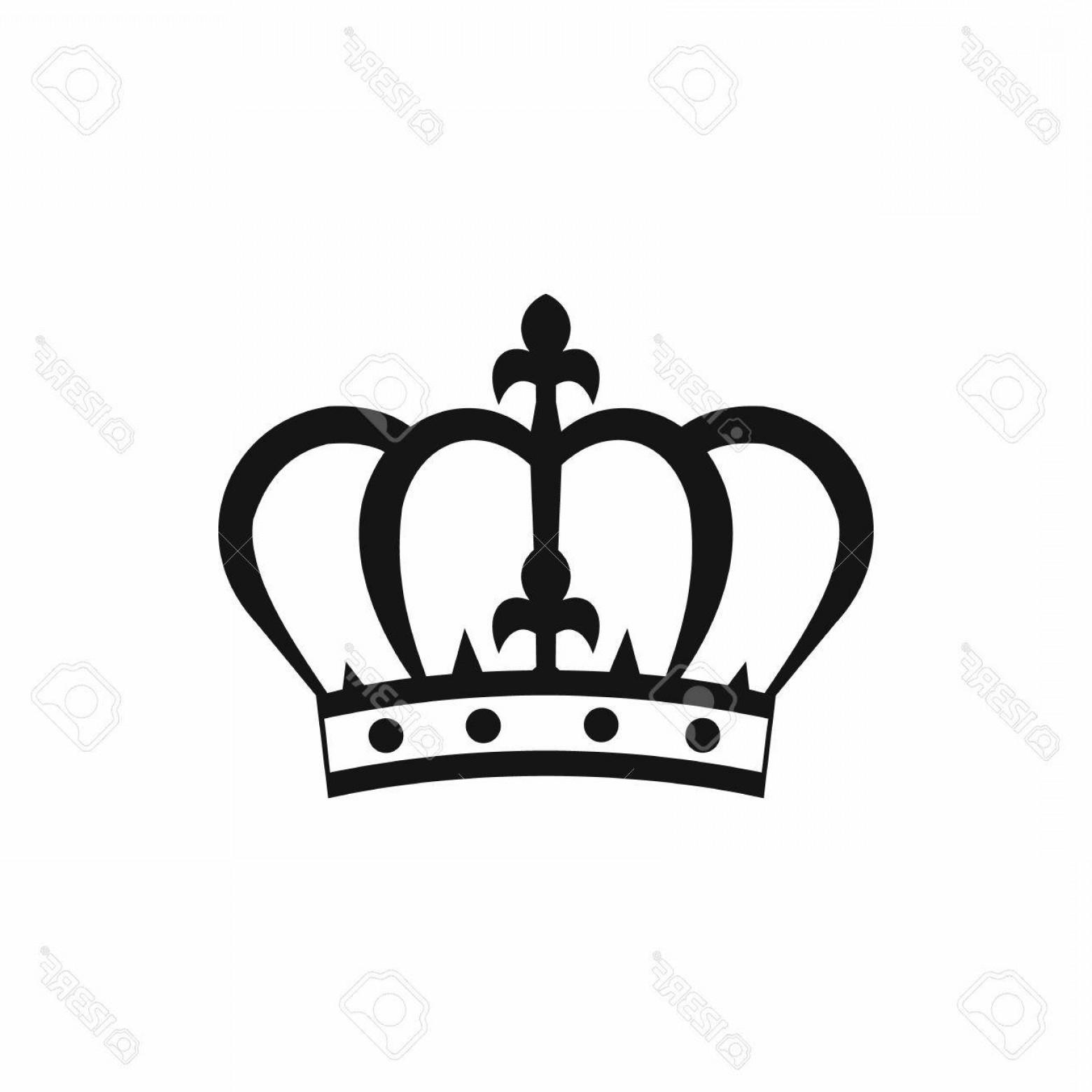 1560x1560 Simple Queen Crown Silhouette Vector Lazttweet
