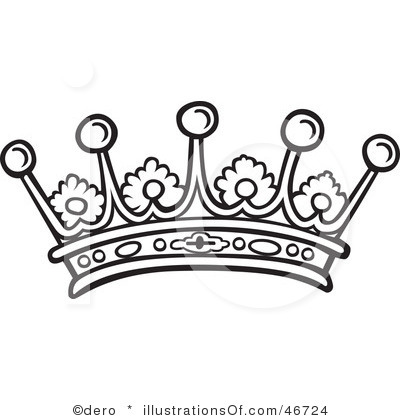 400x420 Beauty Queen Crown Clipart