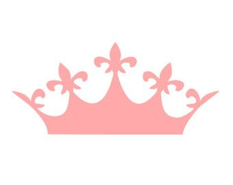 340x270 Crown Decal Silhouette Svg Dxf File Instant Download Silhouette