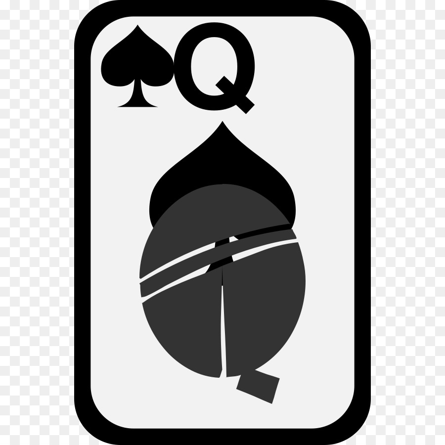 900x900 Queen Of Hearts Red Queen Playing Card Clip Art