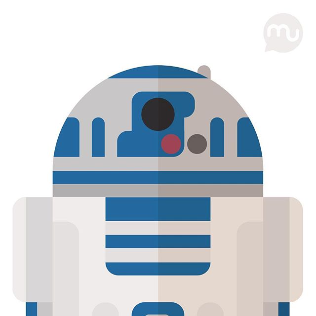 R2d2 Silhouette Vector