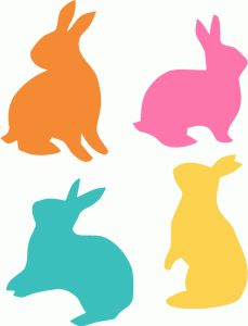 229x300 Easter Bunny Head Silhouette Clipart Collection