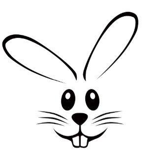 325x325 Silhouette Design Store View Design Bunny Face Bunny Face Clipart