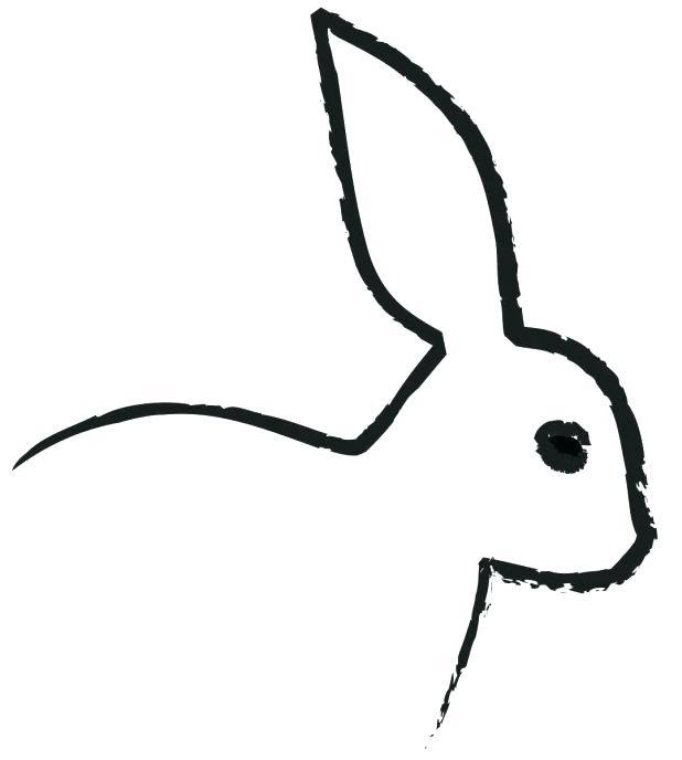 618x688 Adult Bunny Stencils Bunny Stencils Free Stencils For Bunny Adult