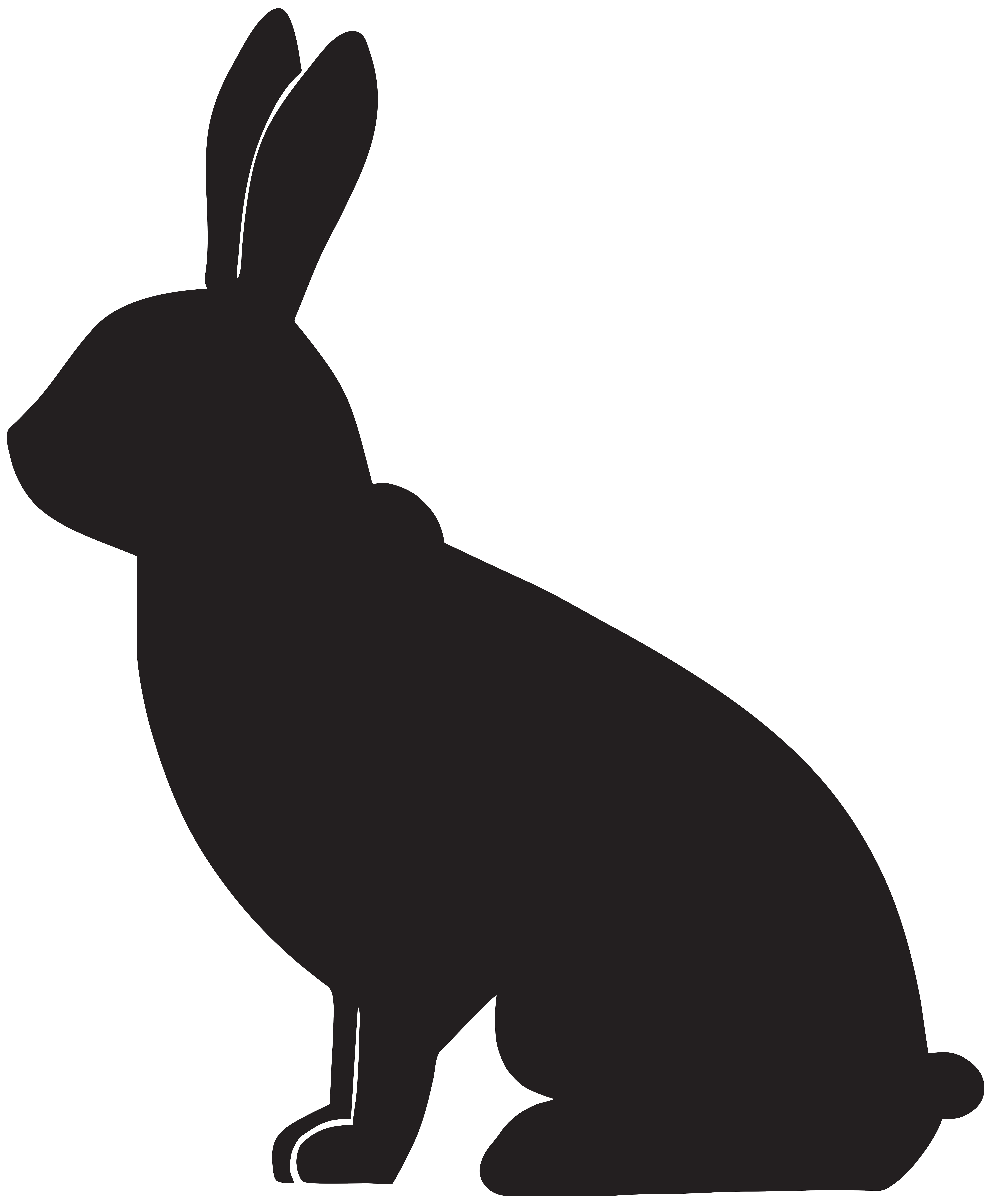 6586x8000 Rabbit Silhouette Png Clip Art Imageu200b Gallery Yopriceville