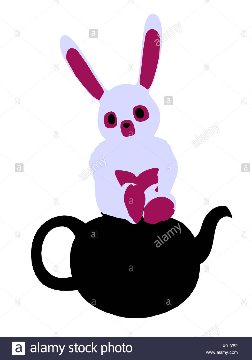 975x1390 Rabbit Silhouette Stock Photos Amp Rabbit Silhouette Stock Images