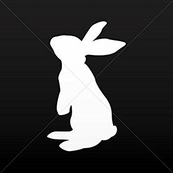 350x350 Rabbit Silhouette