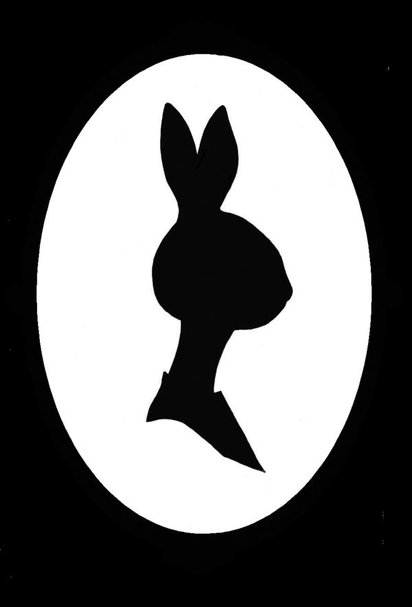 600x883 Bunny Rabbit Silhouette