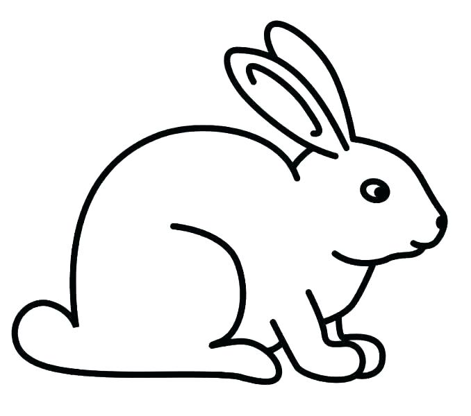 678x600 Free Rabbit Coloring Pages Printable Bunny Coloring Pages Picture