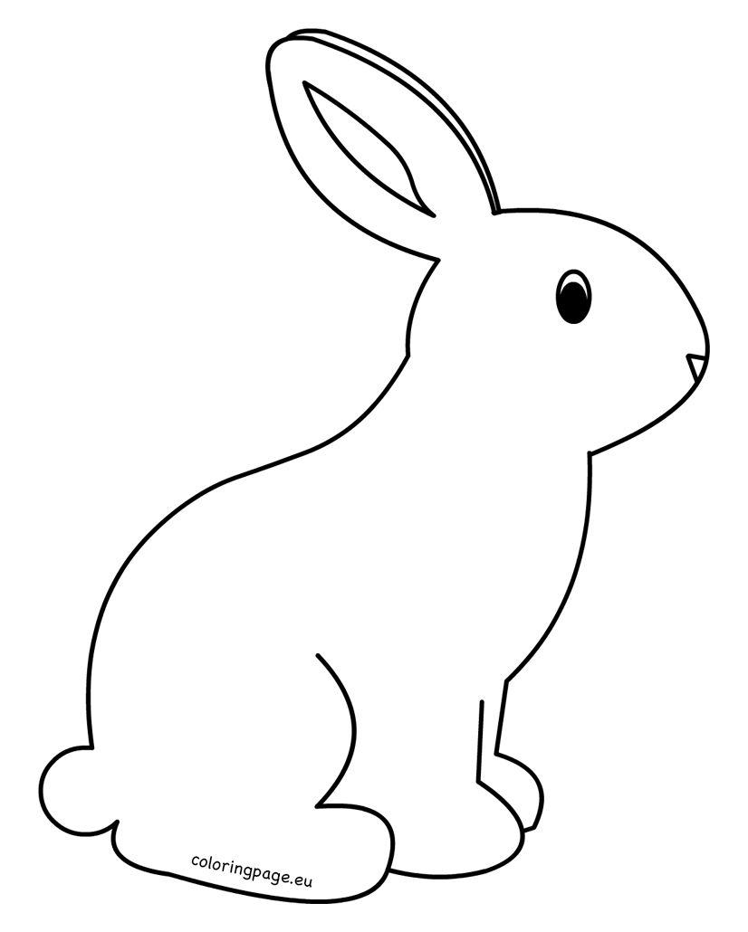 826x1030 Professional Printable Bunny Pictures Crammed Template Rabbit Png