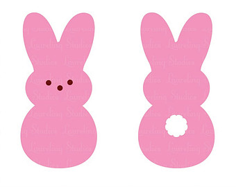 340x270 Easter Bunny Silhouette Clip Art Bunny Tail Clipart 1