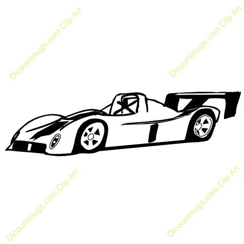 500x500 Racecar Tristan 5th Bday Clipart Images, Sports