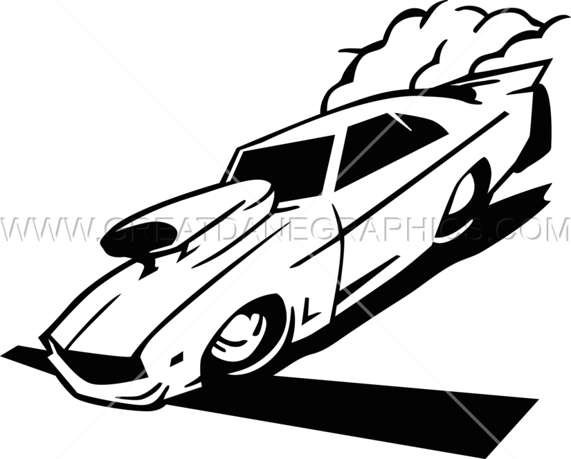 825x663 Drag Car Racing Production Ready Artwork For T Shirt Printing