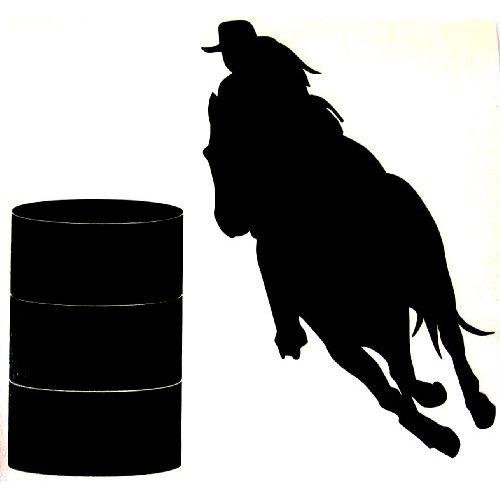 500x500 Barrel Horse Clipart
