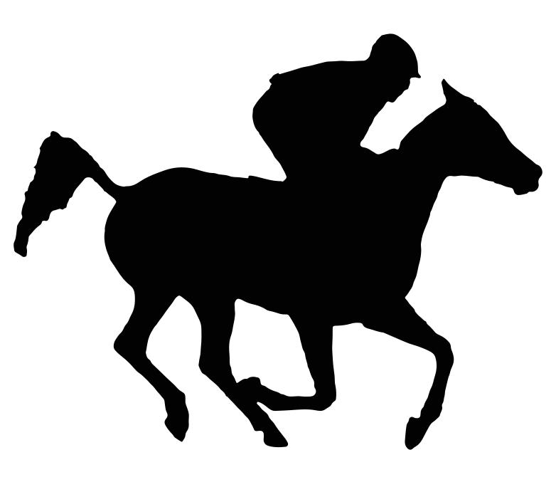 racehorse silhouette at getdrawings com free for personal use rh getdrawings com running horse silhouette clip art free horse and carriage silhouette clip art free