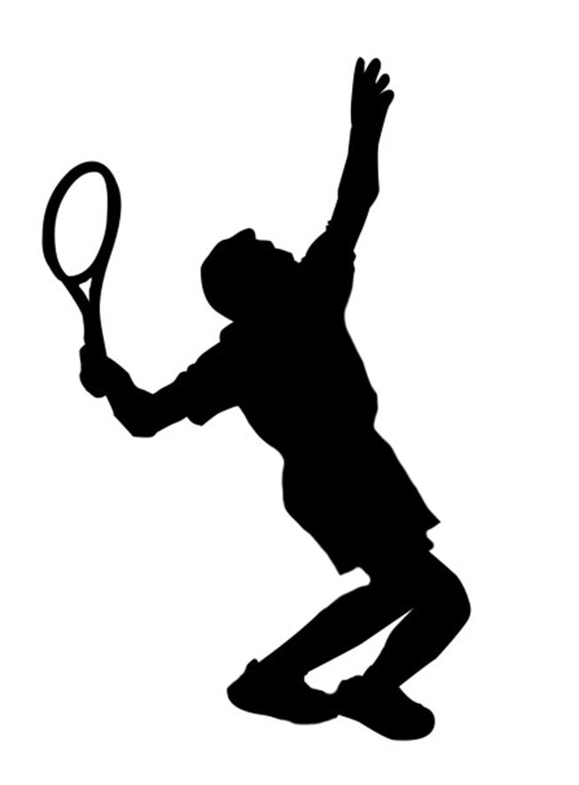 653x886 Silhouette Sports Clipart