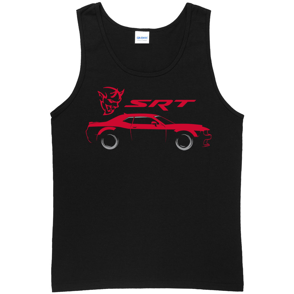 1000x1000 Street And Racing Car Mens Tank Top Dodge Str Silhouette Tanks