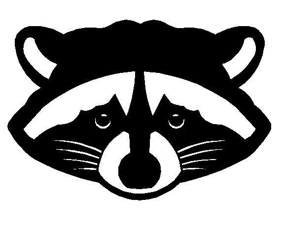 572x465 Silhouette Raccoon
