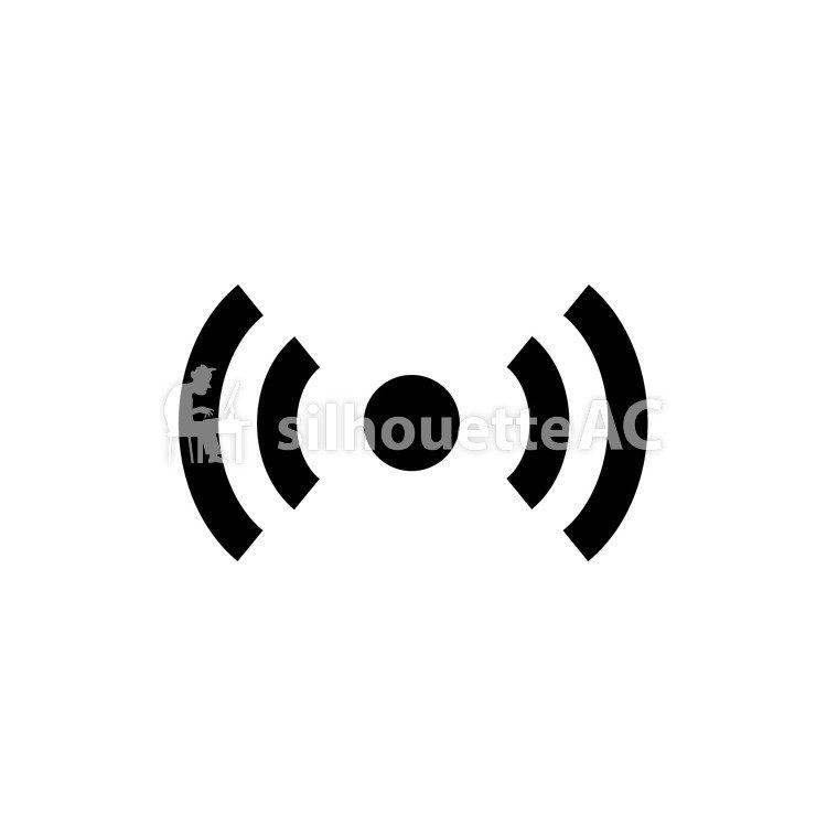 750x750 Free Silhouette Vector Icon, Alert