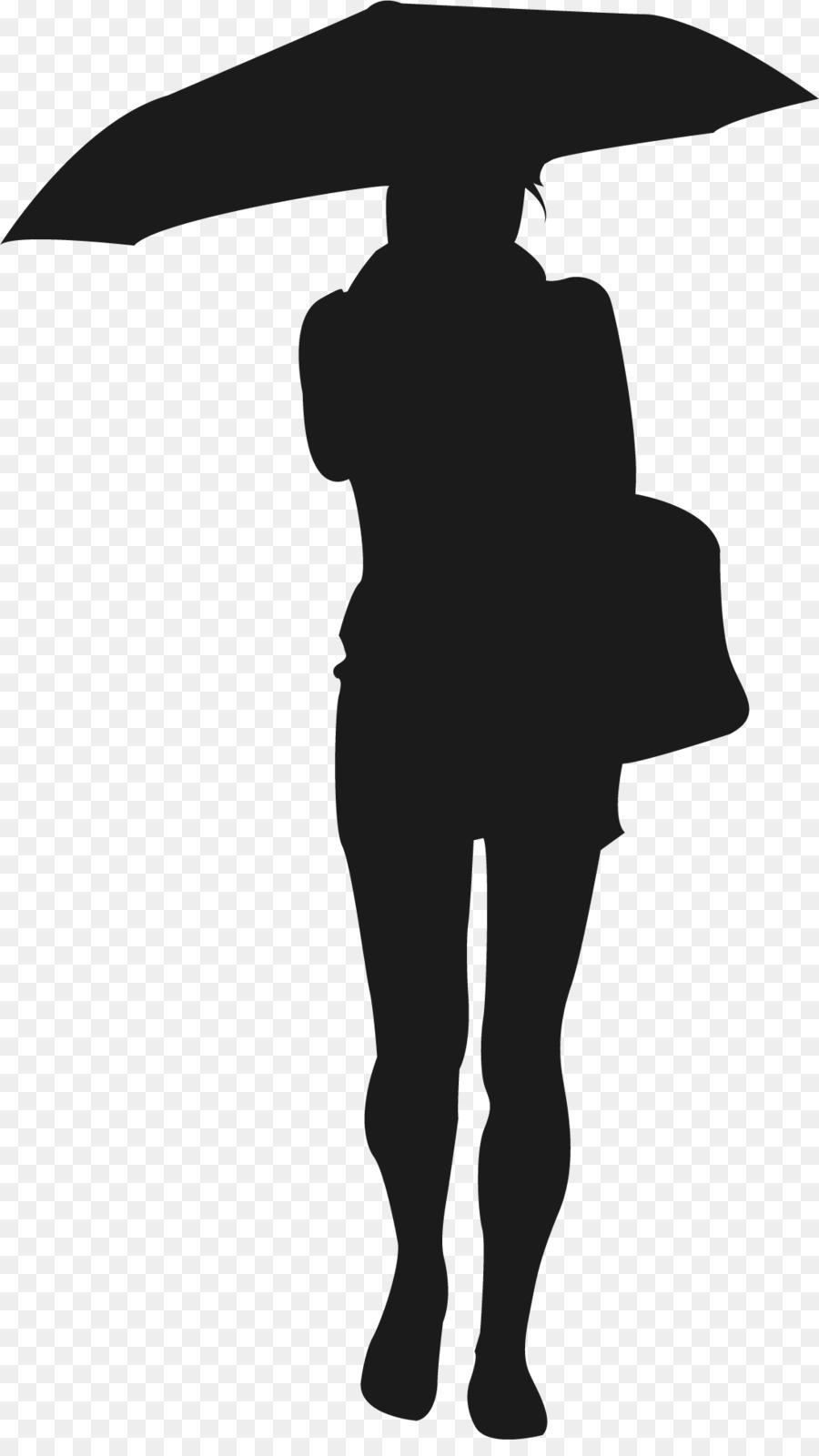 900x1600 Silhouette Scalable Vector Graphics Woman Icon