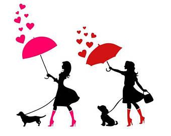 340x270 Umbrella Silhouette Etsy