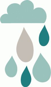 177x300 Raindrop Template From Katescreativespace Paper Cuts