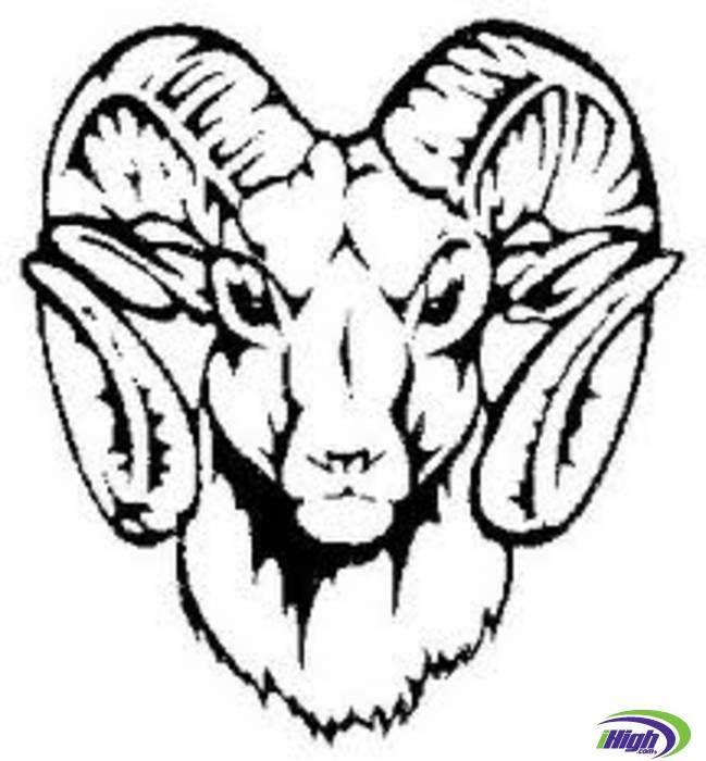 649x700 Riverview Ram Logo