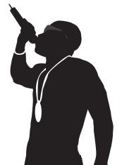 173x235 Hip Hop Silhouette Slow Jam Stock Vector