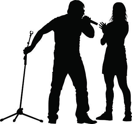 428x402 Singers Of Rap Stock Vectors