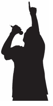 183x365 Rap Silhouette Jeffrey Wilkes