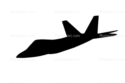 418x279 F 22 Raptor Silhouette, Shape, Logo Images, Photography, Stock