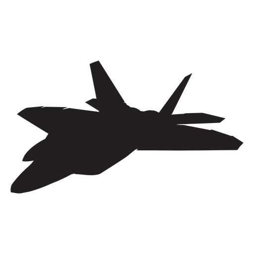 512x512 F 22 Raptor Fighter Aircraft Silhouette