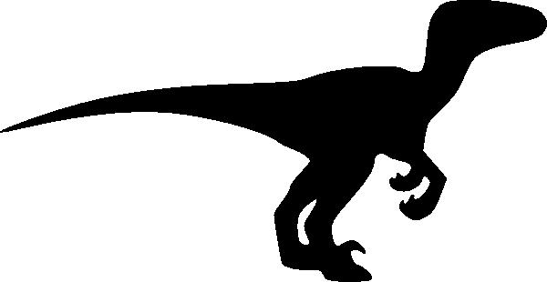 600x310 Velociraptor Silhouette Clip Art