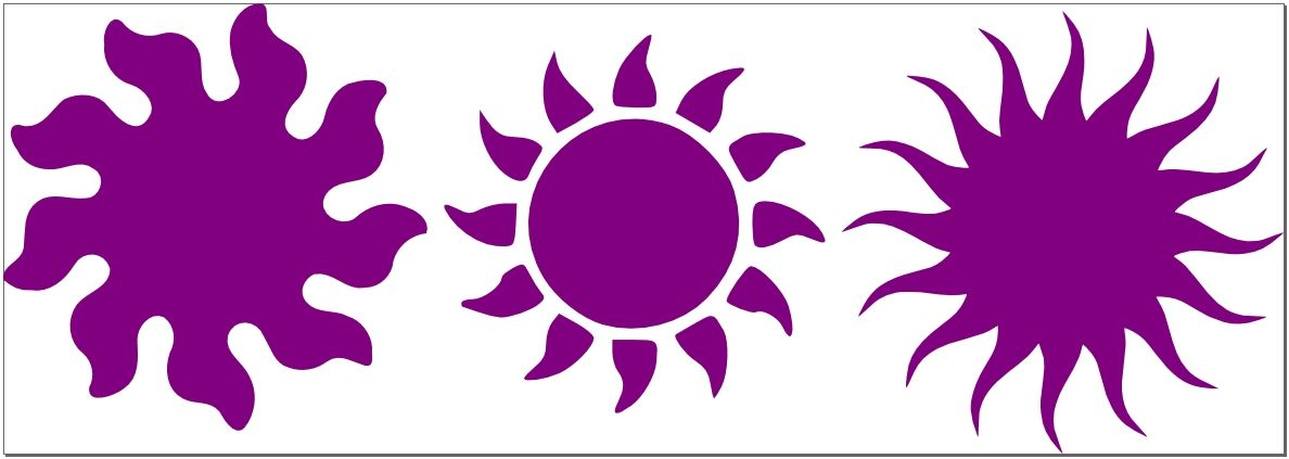 1188x423 Free Svg File 3 Sun Images To Help Warm You Svg File, Filing