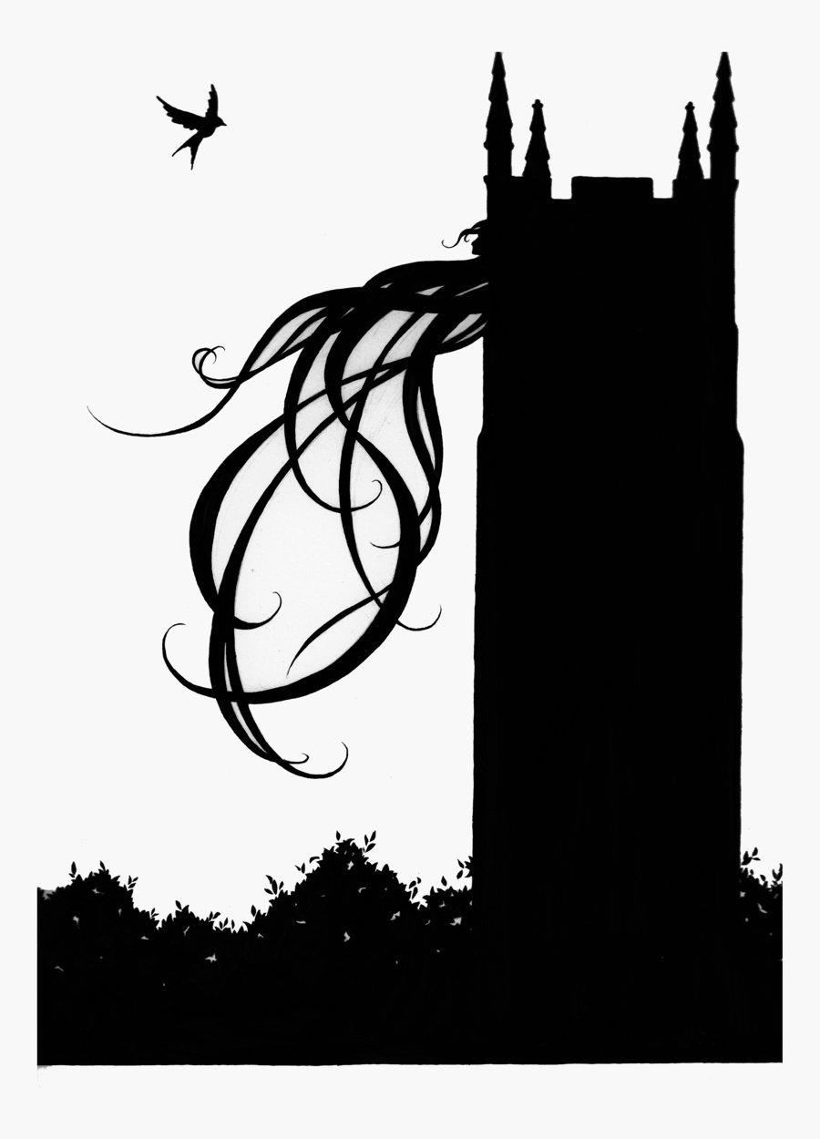 900x1250 Rapunzel Silhouette 2 By Laughingastarael
