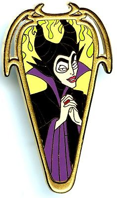 236x400 Le Disney Auctions Beauty Villain Maleficent Flames
