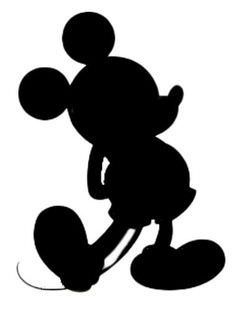 236x313 Disney Character Silhouette Clipart