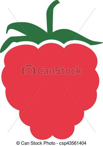 334x470 Raspberry Icon Vector Clipart