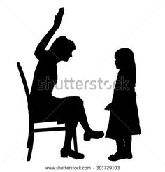 236x246 Silhouette Of Kids Vector Clip Art Of Shadow Girls