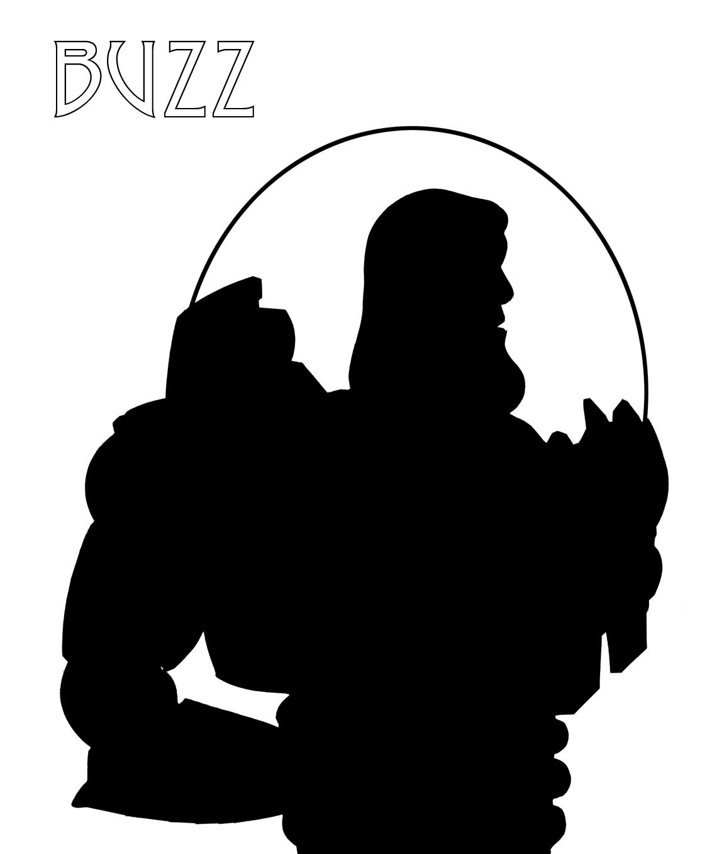 1140x1360 Buzz Lightyear Silhouette Wood Projects Buzz