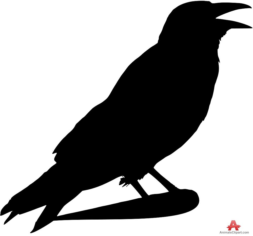 999x933 Crow Outline Clip Art